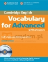 Cambridge Vocabulary for Advanced w/ans and Audio CD Simon Haines