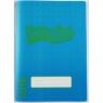 Zeszyt B5/60K kratka Neon blue