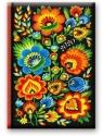 Kalendarz 2020 Dzienny B6 Soft Folk kwiaty 41DS-02