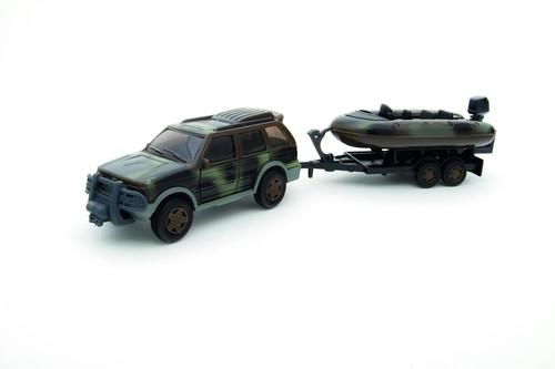 Teama military Auto+ponton 1:32