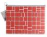 Teczka B4 PP z suwakiem Trend Coral (447653)