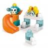 Mega Bloks First Builders - Klocki A kuku Zestaw Zjeżdżalnia i Pingwin