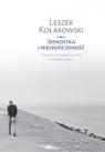 Jednostka i nieskończoność Wolność i antynomie wolności w filozofii Kołakowski Leszek