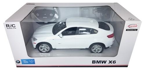 BMW X6 zdalnie sterowane 1:14 białe