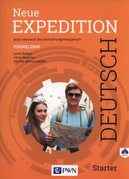 Neue Expedition Deutsch Starter Podręcznik + CD Betleja Jacek, Nowicka Irena, Wieruszewska Dorota