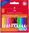 Kredki Grip trójkątne woskowe 12 kolorów (122520)