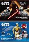 Blok rysunkowy A4 Star Wars 20 kartek 10 sztuk mix
