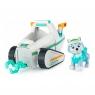 Psi Patrol: Pojazd podstawowy z figurką - Everest i pług śnieżny