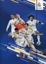Teczka z gumką A4 Real Madrid niebieska