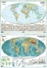 Mapa świata A2 Dwustronna ścienna (10szt)