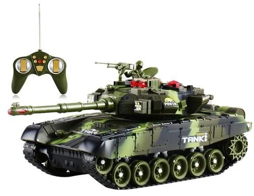 Czołg War Tank zdalnie sterowany leśny kamuflaż