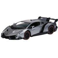 Samochód zdalnie sterowany Lamborghini 670 - licencja 1:24 srebrny
