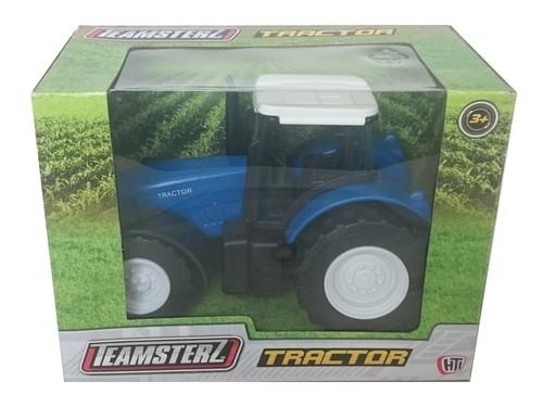 Teamsterz Traktor niebieski skala 1:32