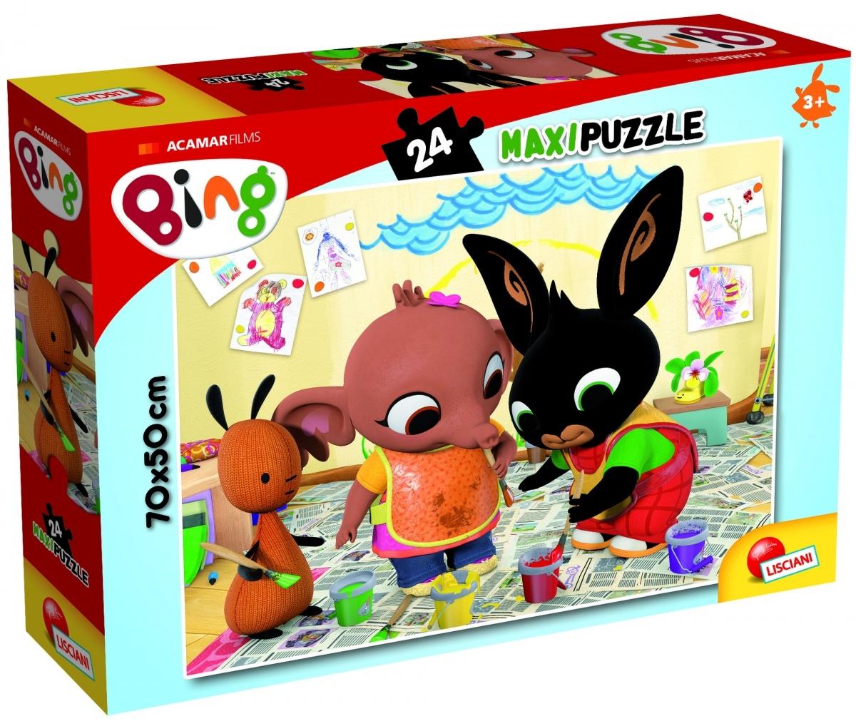 Puzzle Maxi 24: Bing - Atak sztuki! (304-81202)