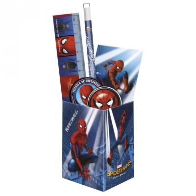 Zestaw przyborów szkolnych w puszce Spider-man Homecoming 10