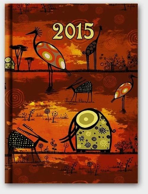 Kalendarz 2015 B6 41D Soft Etno