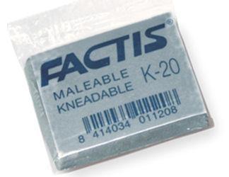 Gumki K-20 formowalne (20szt) FACTIS