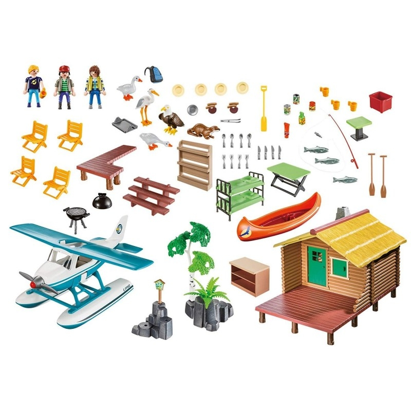 Playmobil Wild Life: Urlop w domku nad jeziorem (9320)