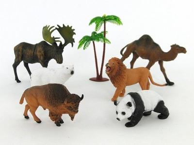Figurka Adar Zwierzęta zestaw dzikich zwierząt (504202)