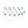 Polesie, zestaw znaków drogowych - 20 elementów (64202)
