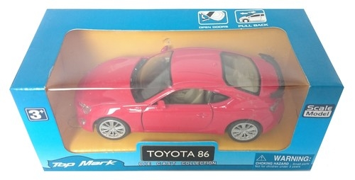 Top Mark Toyota 86 czerwona