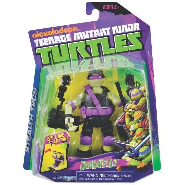 TURTLES Żółwie Ninja Fig. Tech Don
