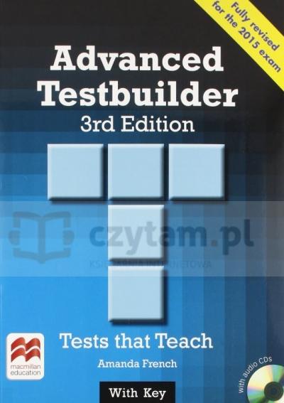 Advanced Testbuilder 3ed SB with Key Amanda French
