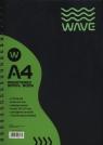 Kołozeszyt A4 Wave w kratkę 120 kartek zielony