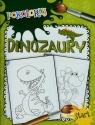 Dinozaury Pokoloruj