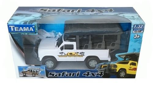 Teama Safari 4x4 skala 1:32 biały