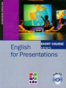 English for Presentations z płytą CD Grussendorf Marion