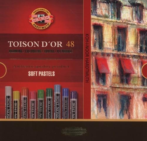 Pastele suche Toison D'Or 48 sztuk