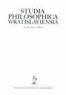 Studia Philosophica Wwratislaviensia 1/2014