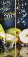 Kalendarz 2018 Kieszonkowy z gumką