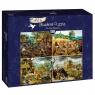 Puzzle 1000: Cztery pory roku, Brueghel (60020)