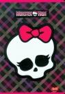 Zeszyt A5 Monster High w kratkę 60 stron czacha