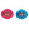 Temperówka otwierana przyciskiem Strigo (SSC089) mix kolorów
