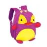 Plecak neoprenowy pingwin fioletowy