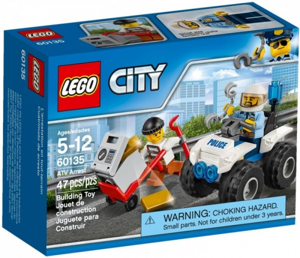 Lego City: Pościg motocyklem (60135)