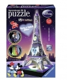 Puzzle 3 D Wieża Eifla - Night Edittion Disney