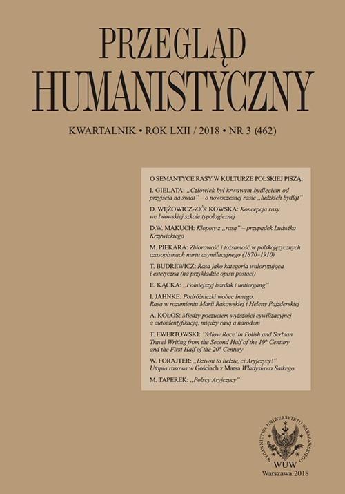 Przegląd Humanistyczny 2018/3 (462)