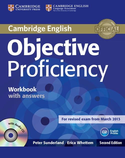 Objective Proficiency Workbook with answers with CD - Sunderland Peter, Whetten Erica - książka