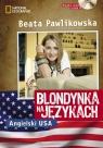 Blondynka na językach Angielski USA + CD
