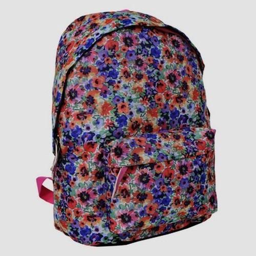 Plecak młodzieżowy drobne kwiatki