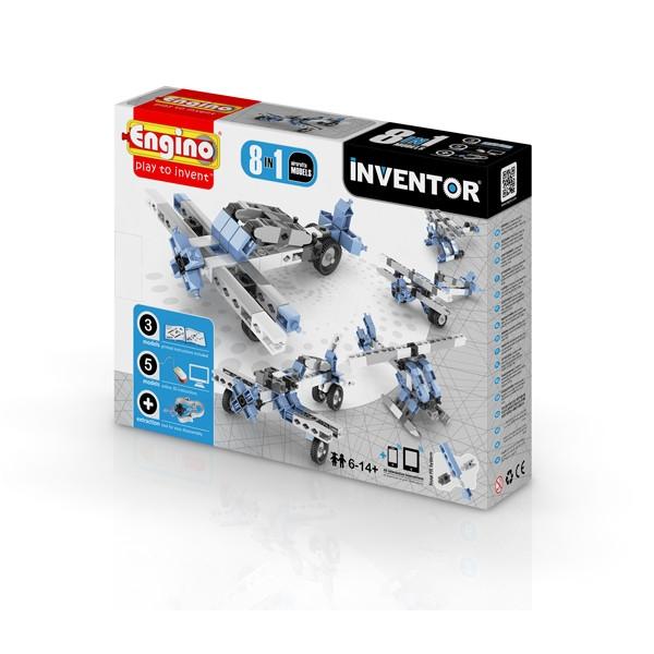 ENGINO Inventor 8 models aircrafts (0833)