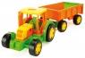 Gigant traktor z przyczepą (66101)