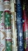 Papier świąteczny BN P2 grafika  / zestaw 1/ 200x 70 MIX