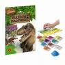 Piaskowe malowanki Era dinozaurów