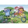 Dora na rowerze