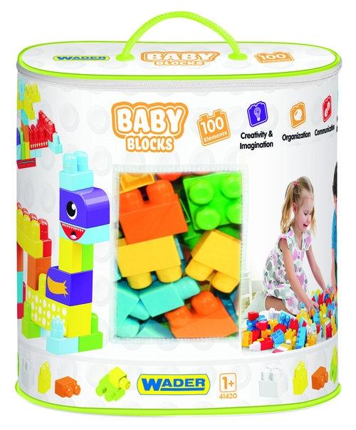 Baby Blocks - torba 100 elementów (41420)